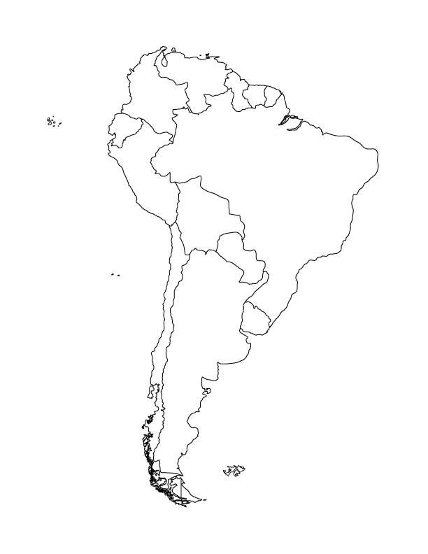 Find the Countries of South America Quiz By alecgreenberg8