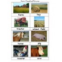 Farm Classified Picture Cards - PDF File