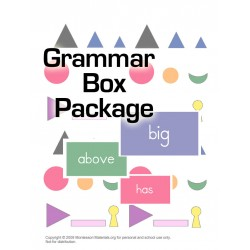 Grammar Box Package - PDF File