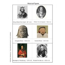 Historical Figures to 1799AD - PDF File