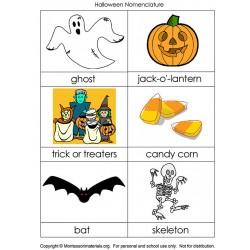 Halloween Nomenclature - PDF File